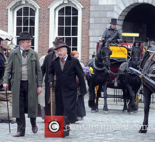 Penny Dreadful filming in Dublin Castle