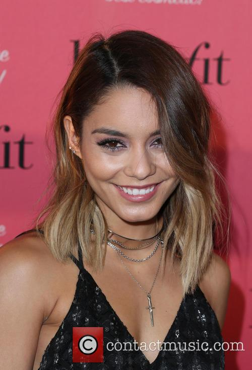 Vanessa Hudgens hosts the Benefit Cosmetics National Wing...