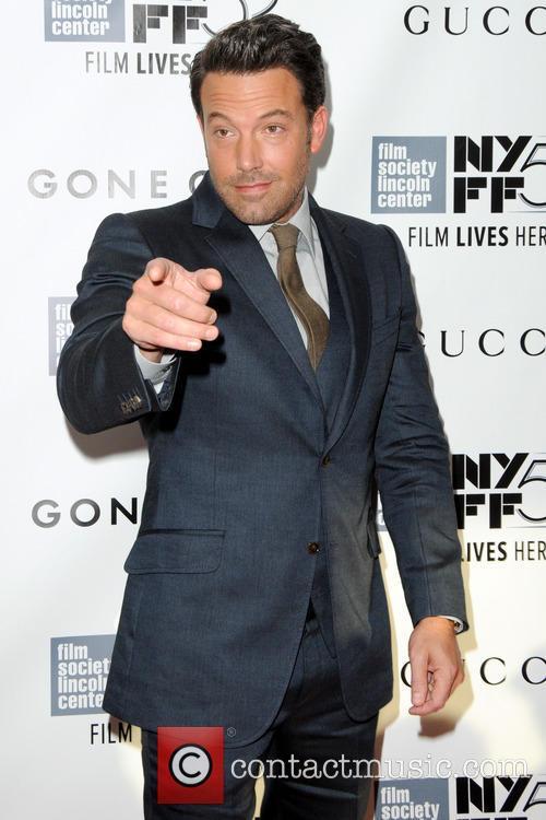 Ben Affleck at the world premiere of Gone Girl