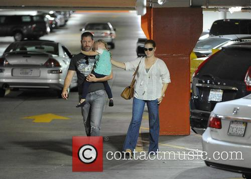 Amy Adams, Darren Le Gallo and Aviana Le Gallo 2