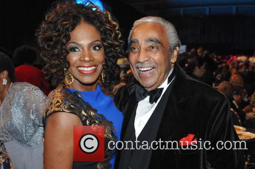 Sheryl Lee Ralph and Charles B. Rangel