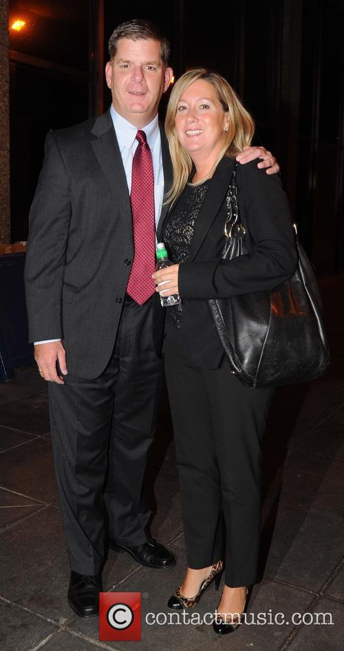 Mayor Of Boston Marty Walsh and Girlfriend Lorrie Higgins 2