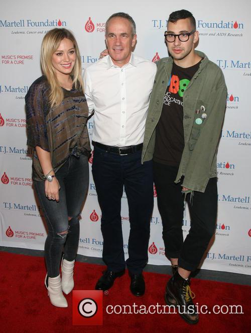 Hilary Duff, Tom Corson and Jack Antonoff