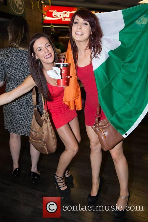 Fans Mairead & Laura (from Wicklow) 2