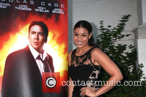 Nicolas Cage Poster and Jordin Sparks 1
