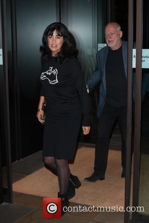 Polly Samson and David Gilmour 2