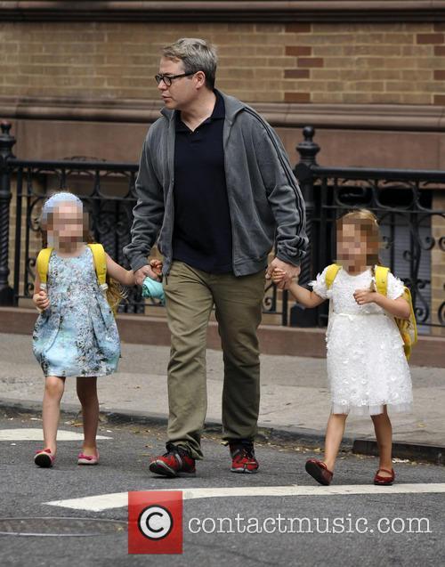 Matthew Broderick, Marion Loretta Elwell Broderick and Tabitha Hodge Broderick 4