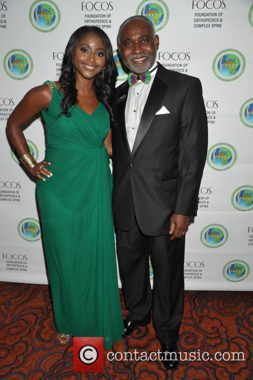 Isha Sesay and Dr.oheneba Boachie-adjei 2