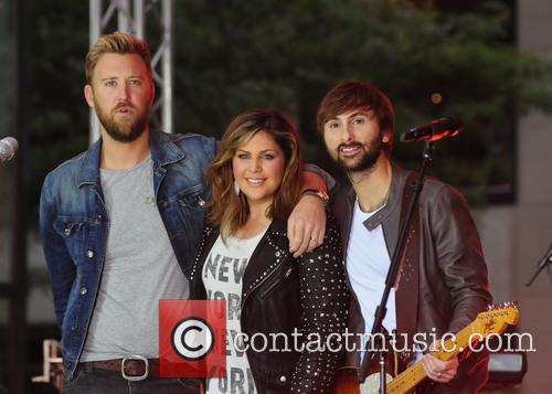 Hillary Scott, Lady Antebellum, Charles Kelley and Dave Haywood