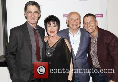 Roger Rees, Chita Rivera, Terrence Mcnally and Tom Kirdahy 2