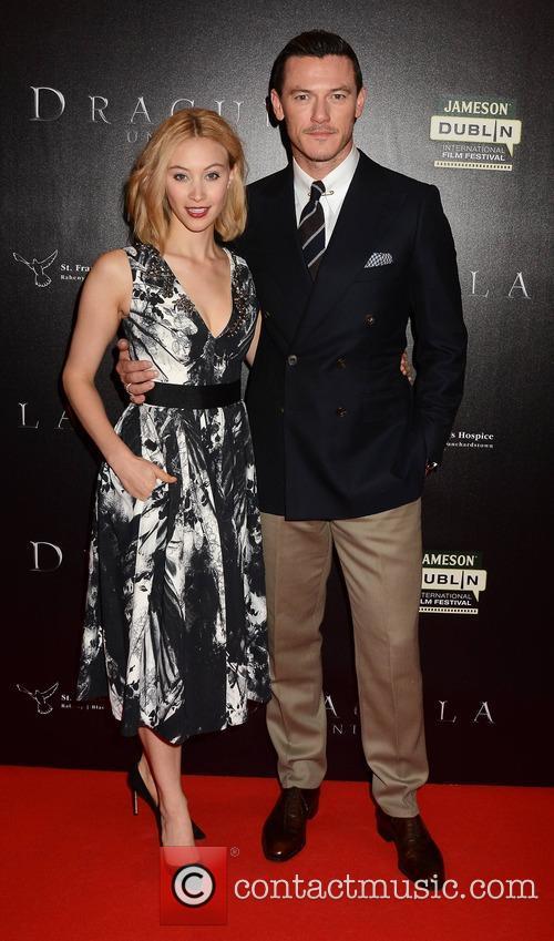 Sarah Gadon and Luke Evans 8