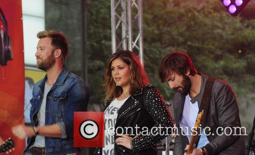 Lady Antebellum perform live on NBC's 'Today' show