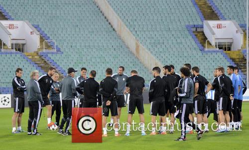 Real Madrid, Ludogorets Razgrad and Press 1