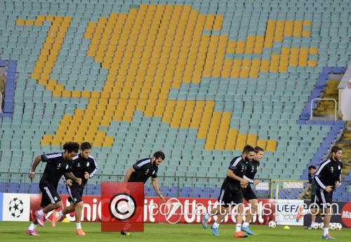 Real Madrid, Ludogorets Razgrad and Press 11