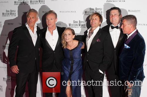 Spandau Ballet, Martin Kemp, Gary Kemp, Tony Hadley, Steve Norman, John Keeble and George Hencken 1