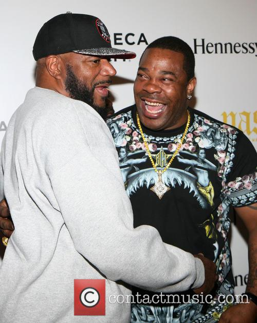 Ed Lover and Busta Rhymes 5