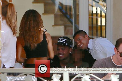 Chris Brown and Karrueche Tran 3