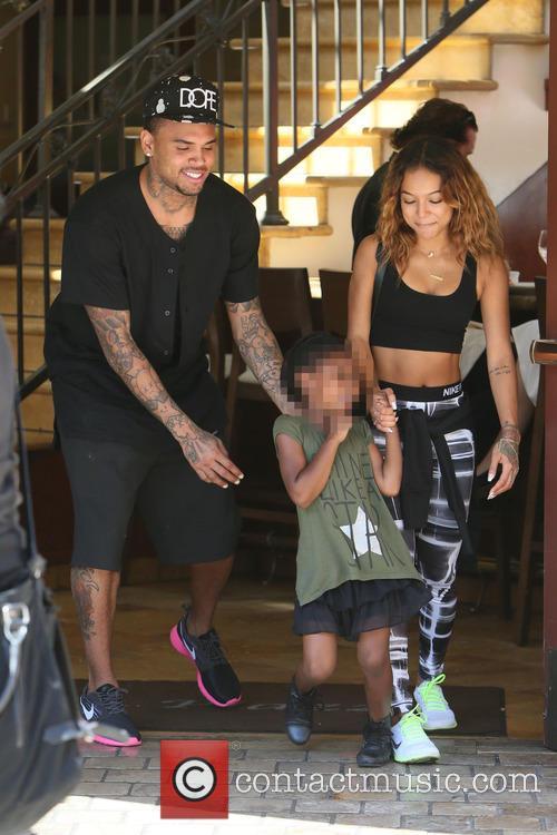 Chris Brown and Karrueche Tran 9