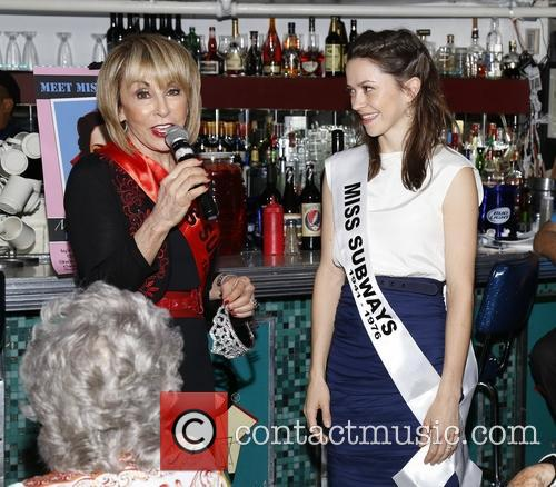 The Miss Subways honorary crowning of 'On the...
