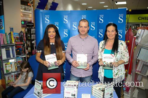 Scarlet Moffett from reality TV show Gogglebox signing...