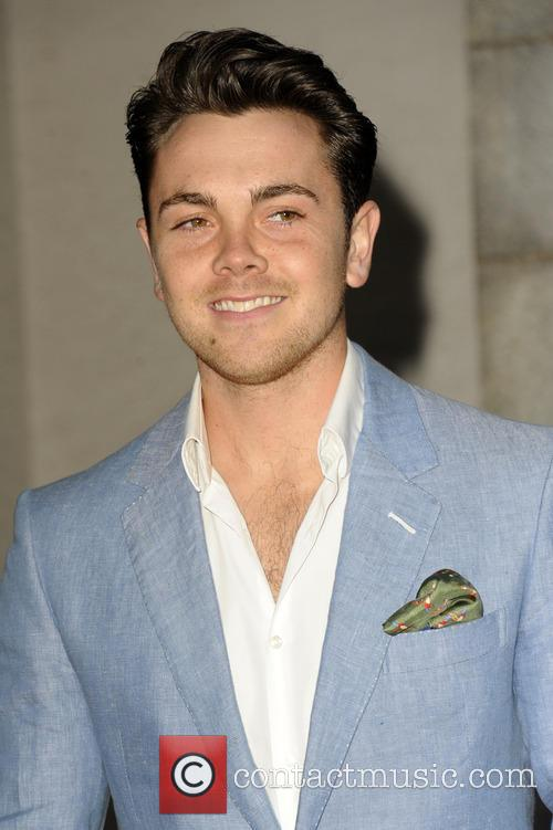 Il 29-anni, 175 cm alto Ray Quinn in 2018 photo