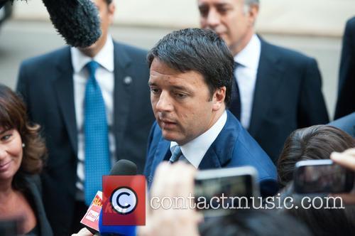 Italian Prime Minister at Downing Street