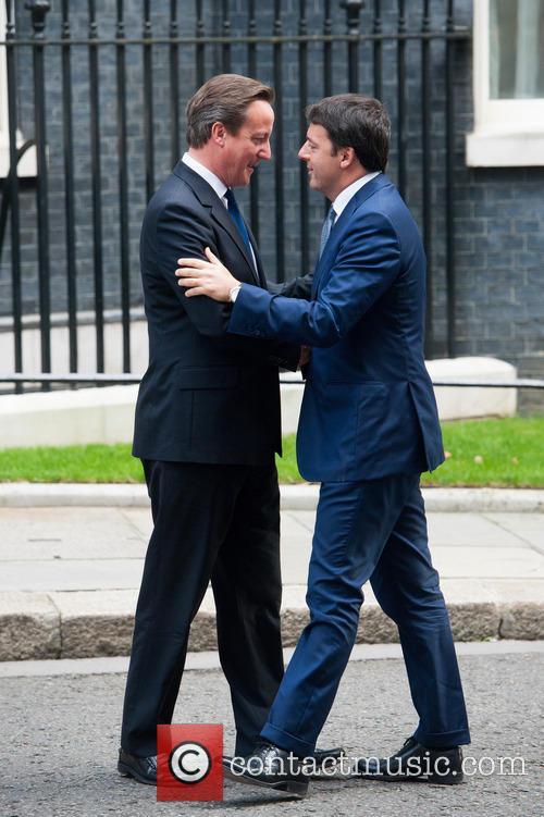 David Cameron and Matteo Renzi 4