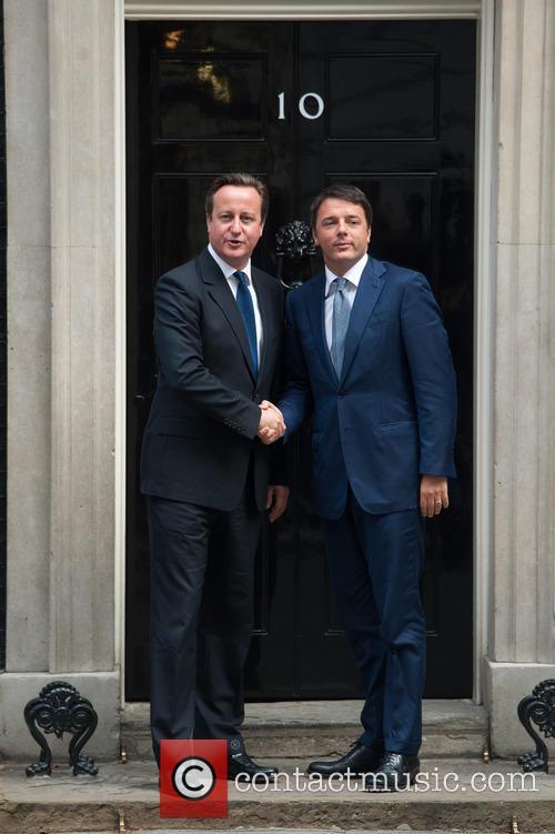David Cameron and Matteo Renzi 5