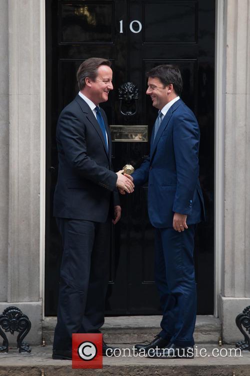 David Cameron and Matteo Renzi 6