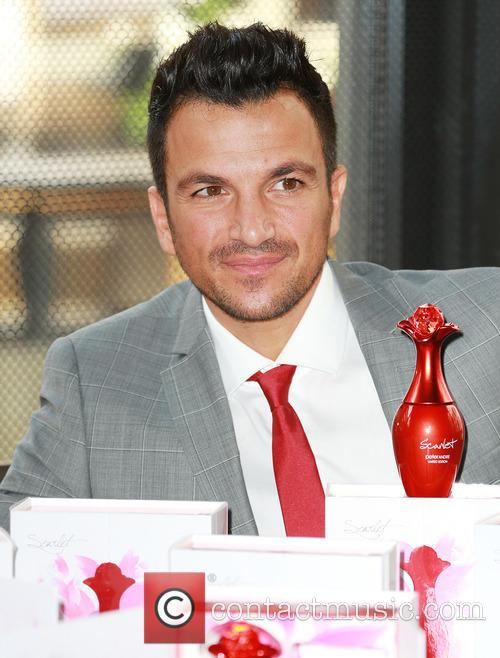 Peter Andre Perfume launch