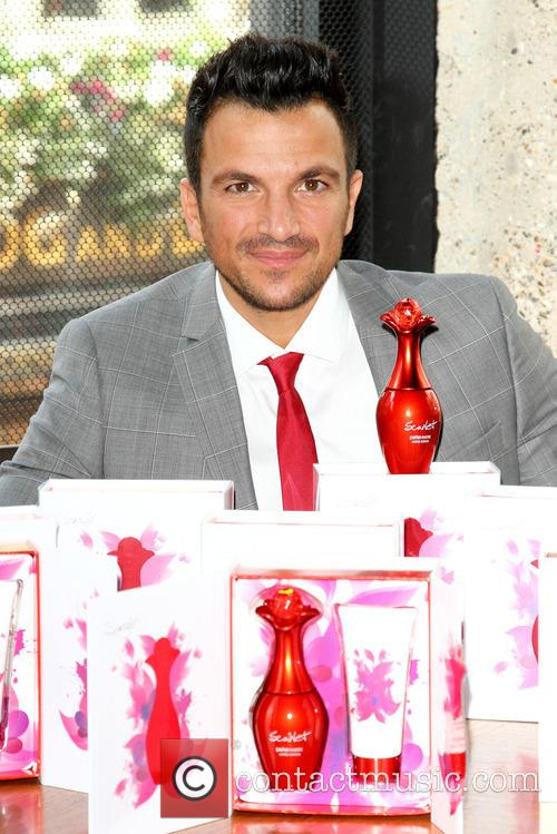 Peter Andre Fragrance Launch