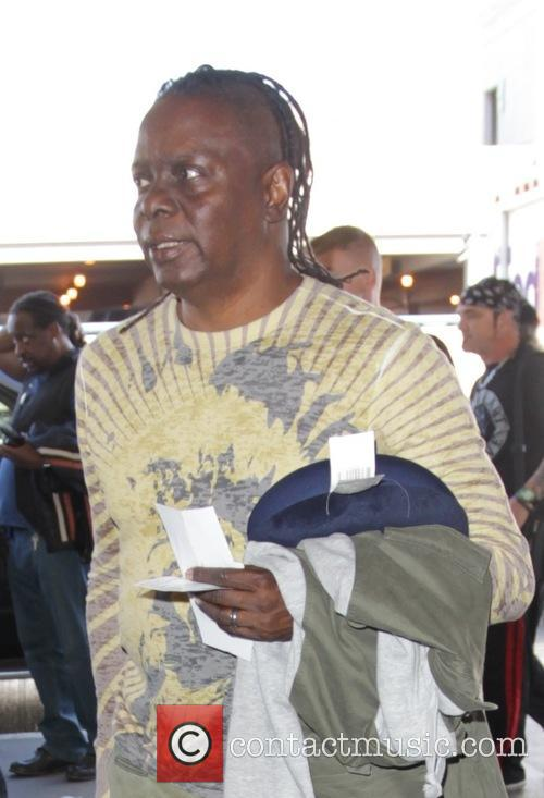 Earth, Wind & Fire band member Philip Bailey...
