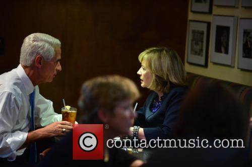 Charlie Crist and Hillary Clinton 2