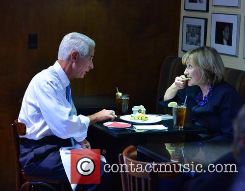 Charlie Crist and Hillary Clinton 4