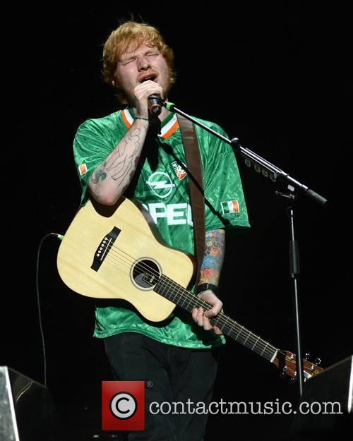 Ed Sheeran performs at 3Arena in Dublin