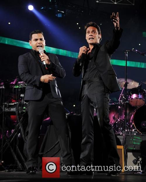 Marc Anthony and Tito El Bambino