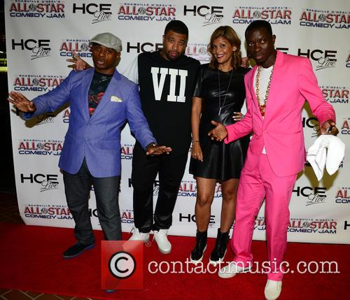 Tony Roberts, Deray Davis, Aida Rodriguez and Michael Blackson 4