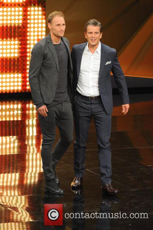 Benedikt Hoewedes and Markus Lanz 6