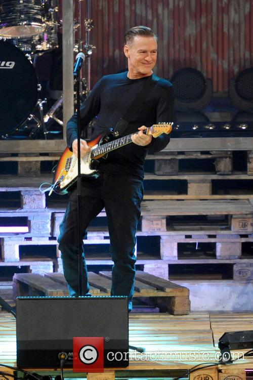 Bryan Adams German ZDF Live TV show'Wetten, dass ?' 10 Pictures Contactmusic com
