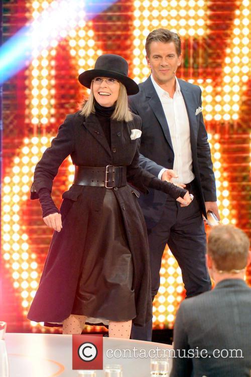Diane Keaton and Markus Lanz 9