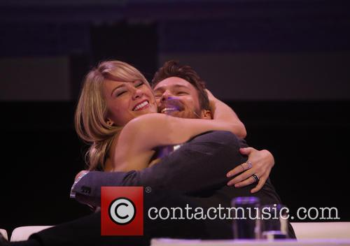 Kim Matula and Scott Clifton