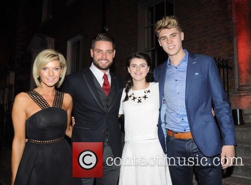 Lisa Duffy, Keith Duffy, Mia Duffy and Jay Duffy 3