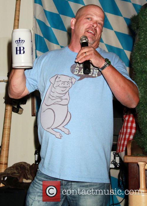 Rick Harrison stars as the 'celebrity keg tapper'...