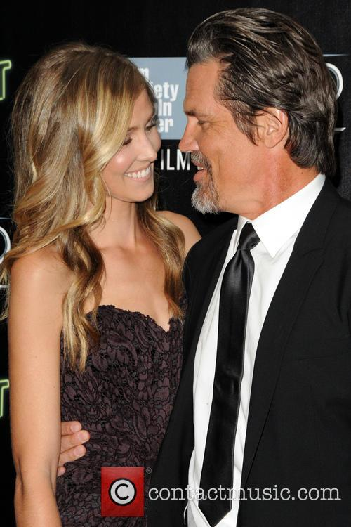 Kathryn Boyd and Josh Brolin