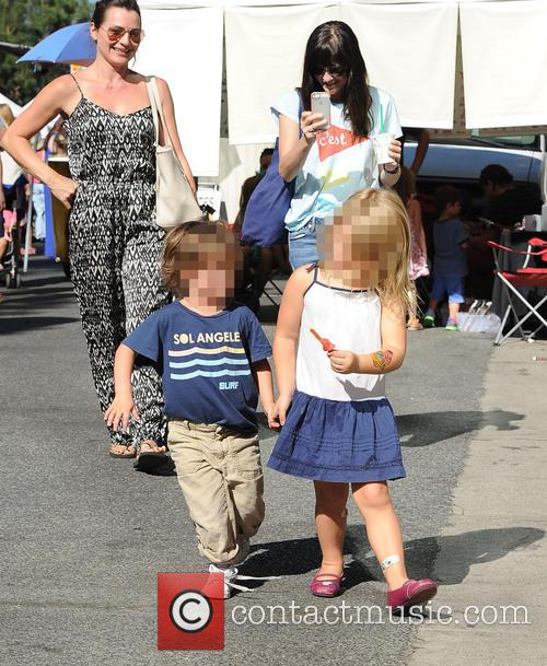 Selma Blair at the Farmers Market
