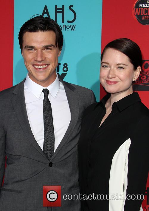 Finn Wittrock and Sarah Roberts 2