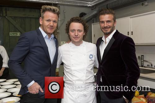 David Beckham, Gordon Ramsay and Tom Kitchin 6