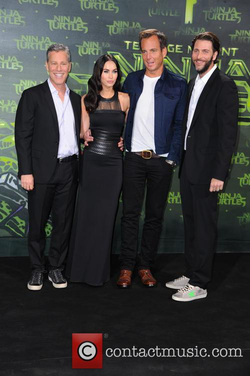 Andrew Form, Megan Fox, Will Arnett and Bradley Brad Fuller 1