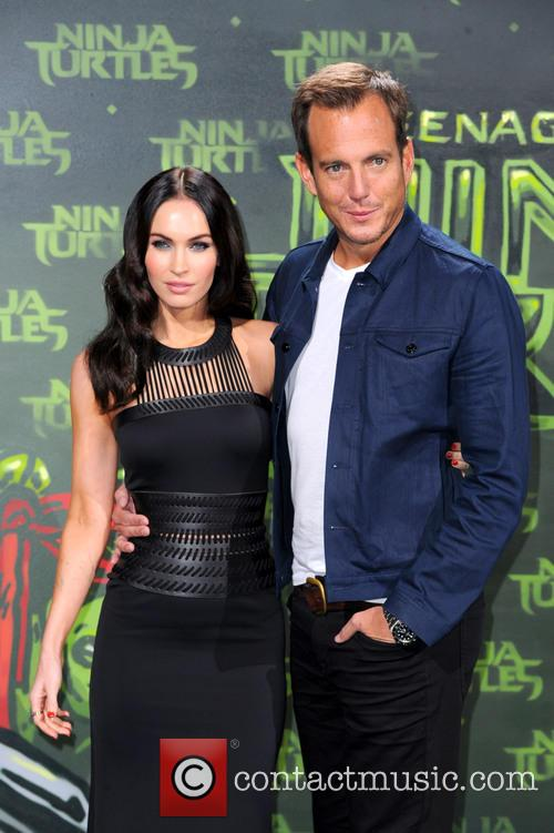 Megan Fox and Will Arnett 6