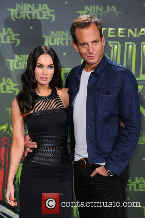 Megan Fox and Will Arnett 7